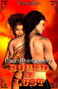 Bound in Lust eBook Cover, written by Dawn Montgomery