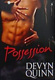 Possession Book Cover, written by Devyn Quinn