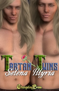 Tartan Twins eBook Cover, written by Selena Illyria