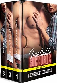 Insatiable Succubus: A Fertile First Time eBook Cover, written by Leandra Camilli