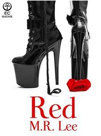 Red eBook Cover, written by M.R. Lee