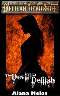 The Devil and Delilah eBook Cover, written by Alana Melos