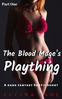 The Blood Mage's Plaything: Part One eBook Cover, written by Lucina Jade