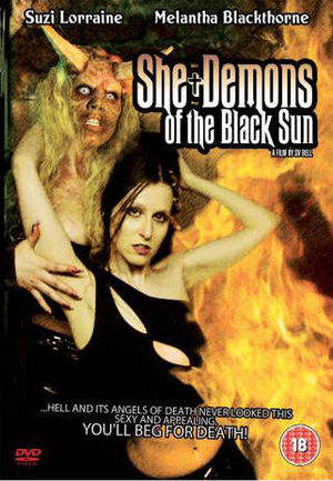 DVD Box Cover of She-Demons of the Black Sun
