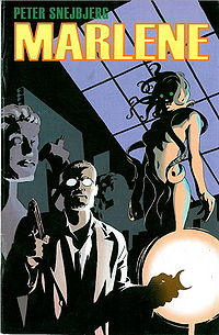 Marlene Book Cover, written by Peter Snjebjerg