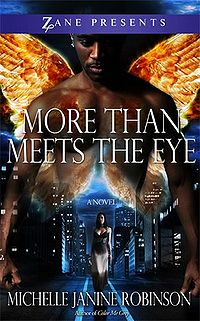 More Than Meets the Eye Book Cover, written by Michelle Janine Robinson