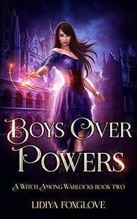Boys Over Powers eBook Cover, written by Lidiya Foxglove