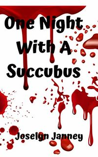 One Night With A Succubus eBook Cover, written by Joselyn Jenny