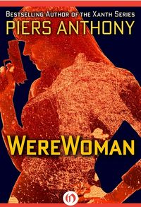 WereWoman eBook Cover, written by Piers Anthony