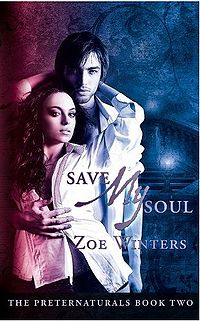 Save My Soul Book Cover, written by Zoe Winters