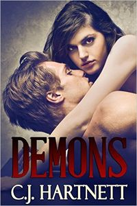 Demons eBook Cover, written by C.J. Hartnett