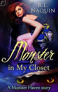 Monster in My Closet eBook Cover, written by R.L. Naquin