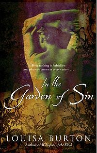 In The Garden Of Sin Book Cover, written by Louisa Burton