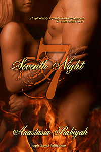 Seventh Night eBook Cover, written by Anastasia Rabiyah