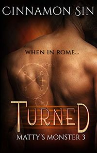 Turned eBook Cover, written by Cinnamon Sin