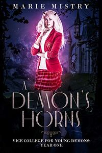 A Demon's Horns eBook Cover, written by Marie Mistry