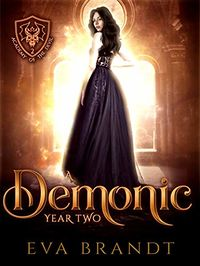A Demonic Year Two eBook Cover, written by Eva Brandt