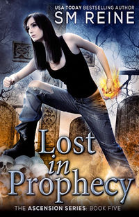 Lost in Prophecy Book Cover, written by SM Reine