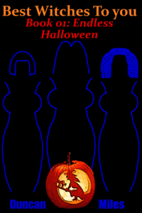 Endless Halloween eBook Cover, written by Duncan Miles