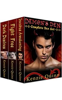 Demon's Den: Complete Boxed Set eBook Cover, written by Kenzie Quinn